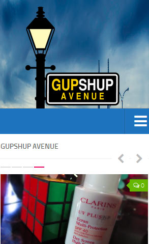 Gupshup Avenue - Wordpress Lifestyle Website
