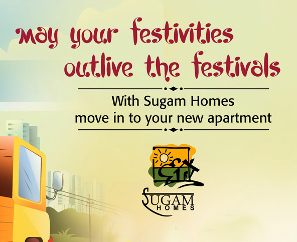 Sugam Homes OOH Campaign
